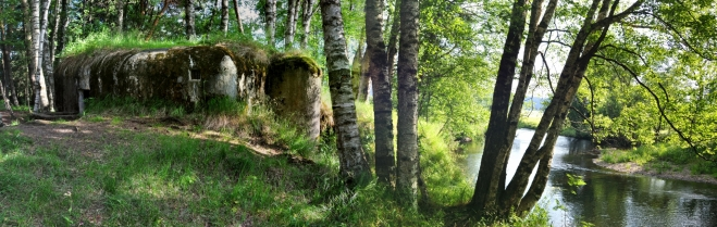 Opět bunkr u Teplé Vltavy.