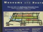 Mapa muzeí společnosti Smithsonian