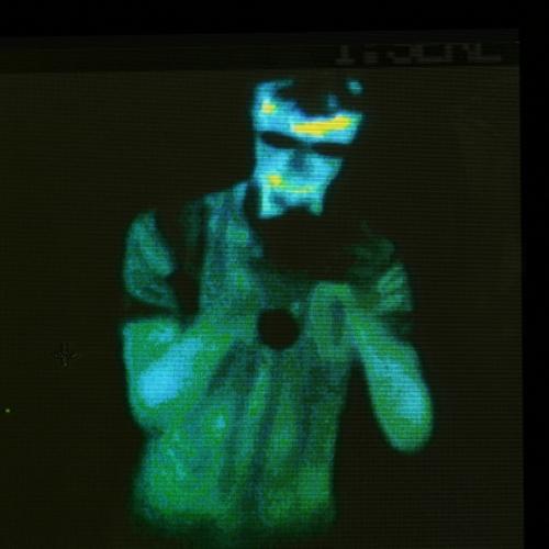 Autoportrét infračervenou kamerou