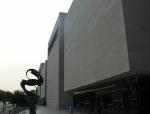 Budova muzea letectví a astronautiky je také velká