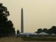 Blížíme se k Washingtonovu památníku