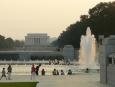 Lincolnův památník v dáli