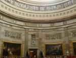 Slavnostní sál ve středu Kapitolu (pod kopulí)