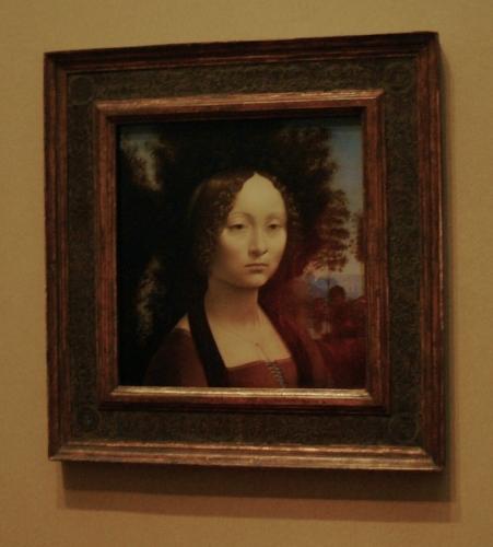 Leonardo da Vinci: Ginevra de Benci