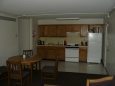 Velmi dobře vybavená kuchyň.
