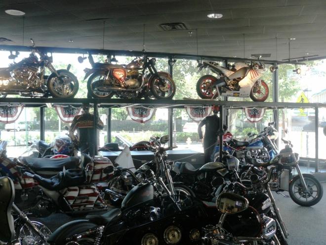 Prodejna Harley-Davidson