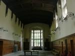 Velmi prostorné haly jsou také známkou napodobování středověku.