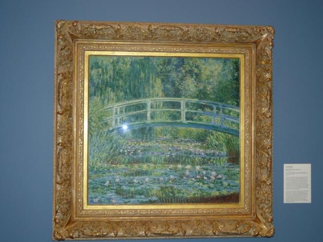 V univerzitním muzeu umění mají i Moneta.