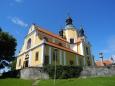 Kostel v Chlumu u Třeboně.