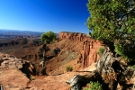 Utah, National Park Canyonlands, Grand view Point Overlook
