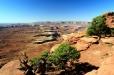 Utah, National Park Canyonlands - meandrující Green River