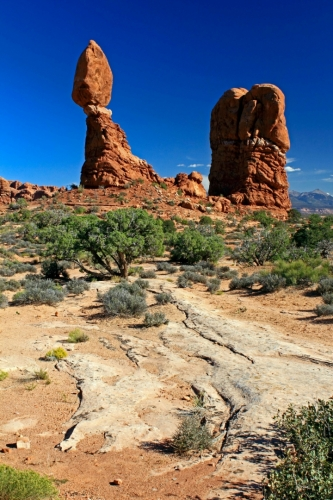 Utah, National Park Arches - Balanced Rock