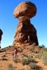 Utah, National Park Arches - Balanced Rock