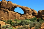 Utah, National Park Arches - Skyline Arch