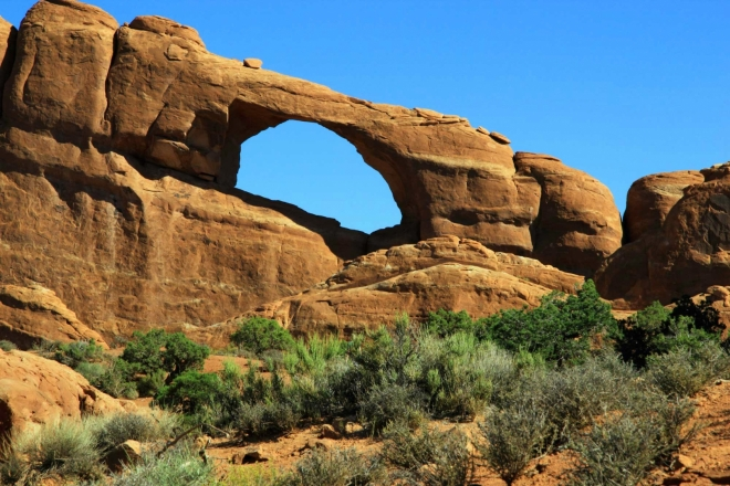 Utah, National Park Arches - Skyline Arch