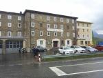 Motel nacházející se v průsmyku Passo del Bernina ve Švýcarsku