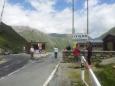 Hraniční přechod ze Švýcarska do italské bezcelní oblasti Livigna