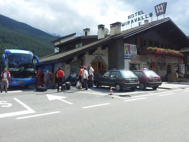 Hotel Miravalle, ve kterém jsme byli ubytovaní
