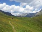 Krásná alpská loučka