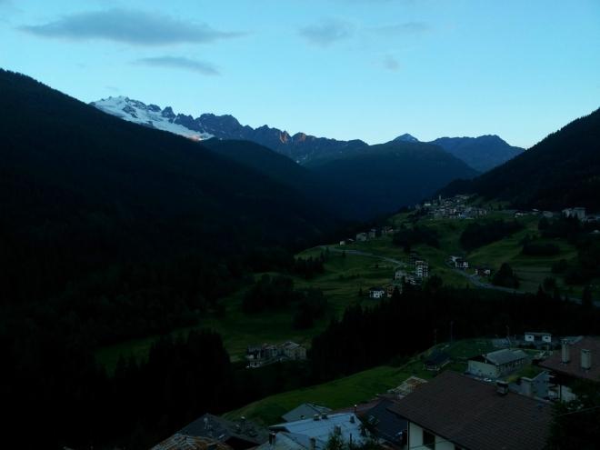 Semogo a vrchol Cima Piazzi