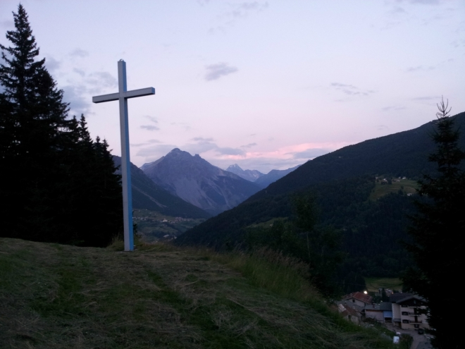 Poslední (a největší) kříž křížové cesty