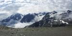 Vrchol Ortleru a okolní hory