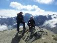 Já a strejda s vrcholem Ortleru v pozadí
