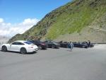 Sraz aut značky Porsche v průsmyku Passo dello Stelvio