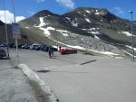 Na Passo dello Stelvio přijel i jeden Ford Corvette