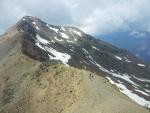 Pár z nás vyrazilo zdolat vrchol Vallecetta