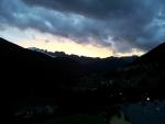 Západ slunce v Semogu