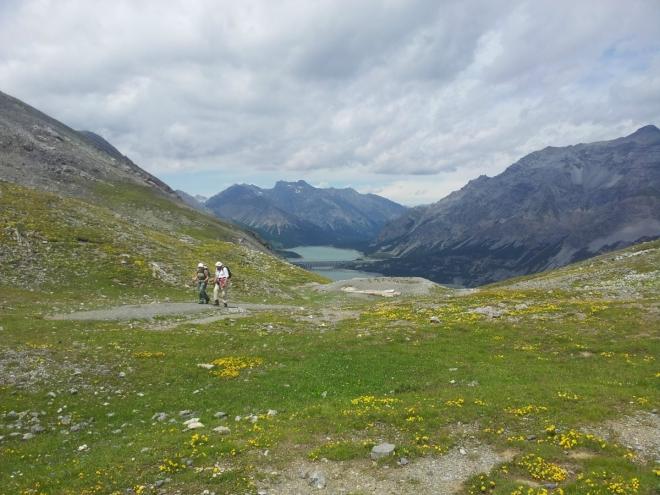 Sedlo cestou na vrchol Monte delle Scale