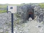 Vchod do podzemní pevnosti z 1. světové války