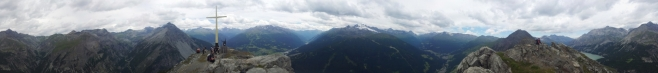 360° panorama z vrcholu