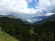 Pohled z Ofenpassu na okolní hory