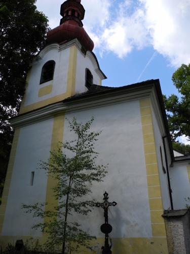 Kostel sv. Vintíře.