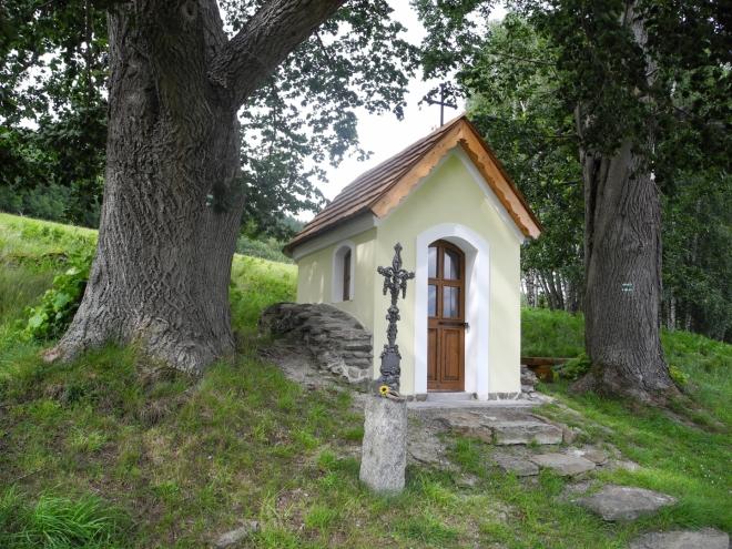Obnovená kaple v Zadních Paštích