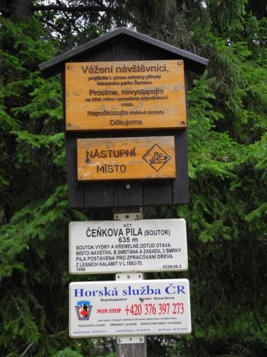 Soutok Vydry s Křemelnou.