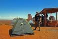Utah, Monument Valley - já a náš stan
