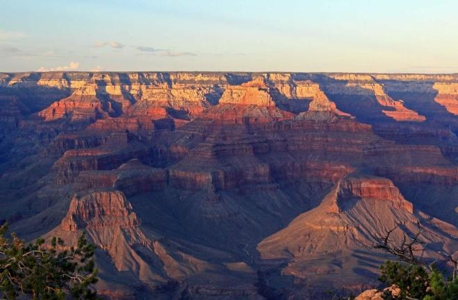 Arizona, Grand Canyon - v zapadajícím slunci