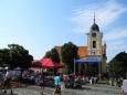 Týn nad Vltavou, náměstí.