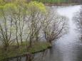 Foto soutoku z mostu u Neznašova.