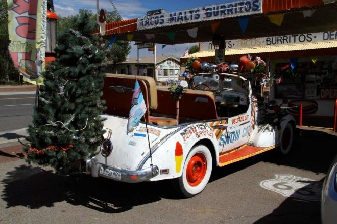 Arizona, Seligman - atmosféra městečka