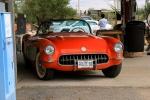 Arizona, US Route 66 - stará pumpa v Hackberry, nostalgie