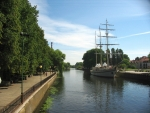 Řeka Danė, Klaipėda