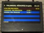 Na nádraží v Klaipėdě