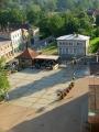 Růžové náměstí či náměstí Růží (Rožu laukums) v Cēsis