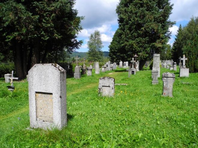 Hřbitov na Knížecích Pláních.
