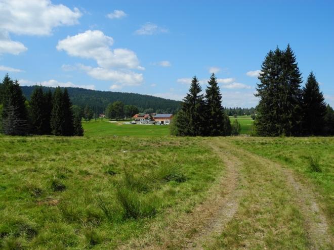 Na nové značce k Heidmühle.