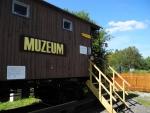 Nové Údolí. Muzeum pošumavských železnic.